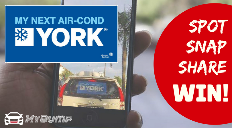 MY NEXT AIR-COND, YORK! Spot, Snap, Share and Win Contest
