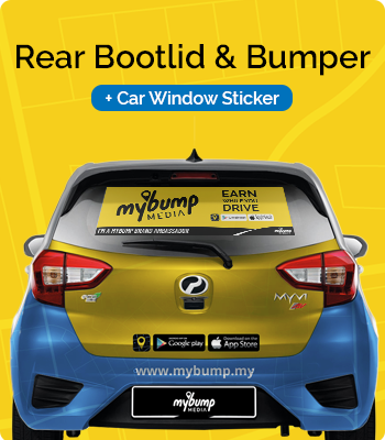 rear bootlid and bumper