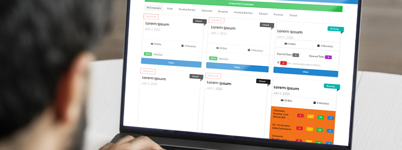 Admin Dashboard for workflow automation